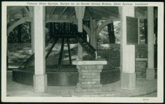 Famous Abita Springs, Known for its Health Giving Waters, Abita Springs, Louisiana :: LSU Libraries Postcard Collections