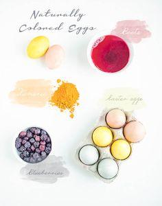 DIY Natural Easter Egg Decorating - Nourish & Inspire Me
