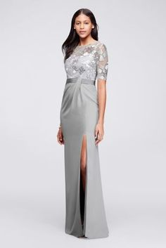 10613069 - Long Sequined Dress…