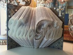 Hey, I found this really awesome Etsy listing at https://www.etsy.com/listing/208384908/faith-folded-book-art-home-decor-gift