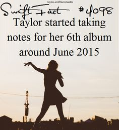 AAAAHHHHHHH!!!! IM NOT READY FOR A SIXTH ALBUM I CANNOT BELIEVE 1989 IS ALREADY A YEAR AND A HALF OLD!!!!