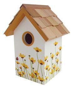 Daisy Standard Birdhouse #zulilyfinds