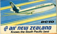 Air New Zealand DC-10 Matchbox