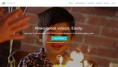 Animoto Homepage