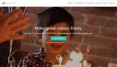 Animoto Homepage