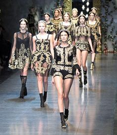 baroque fashion  | Baroque style - Paperblog