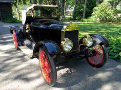 Edsel Fords 1912 six-cylinder  model T speedster. One of a kind.