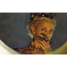 Snow White & the Huntsman ❤ liked on Polyvore featuring charlize theron