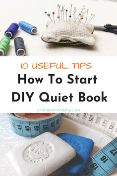 Helpful tips and trick you wanna know if you are making a quiet book Diy Quiet Books, Baby Quiet Book, Felt Books, Quiet Book Patterns, Creation Couture, Busy Book, Sewing Projects For Beginners, Diy Projects, Mason Jar Crafts