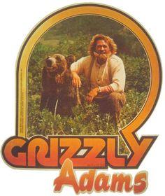 nostalgia Grizzly Adams Vintage Image T-shirt - 1970s Childhood, My Childhood Memories, Childhood Toys, Best Memories, Grizzly Adams, Logo Image, Image T, Vintage Tv, Vintage Toys 1970s