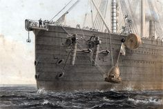 Built in 1858, it was capable of bringing 4,000 people around the world, without ever once needing to refuel...