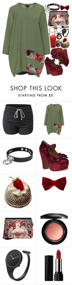 """""""Untitled #489"""" by jorybunny ❤ liked on Polyvore featuring Manga, UNIF, Jeffrey Campbell, Forever 21, MAC Cosmetics, Georg Jensen, Kat Von D, Julien David, women's clothing and women"""