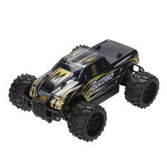 전기 RC 자동차 USB 충전기 1:16 스케일 모델 2WD 오프로드 고속 원격 제어 자동차 (골드) 아이 어린이 선물