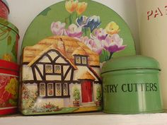 vintage tins | Flickr - Photo Sharing!