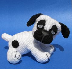 Ravelry: Billy the Pug - Amigurumi pattern pattern by Luisa Contreras