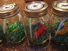 possible attendance idea: Each child has a jar of their own and adds a toy bug each time they come to class then takes home at the end of the quarter. Visitors get to just take a bug home.