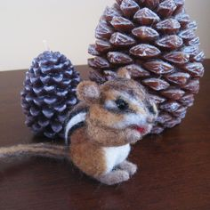Hey, I found this really awesome Etsy listing at https://www.etsy.com/listing/129532231/seed-the-tiny-chipmunk-needle-felted
