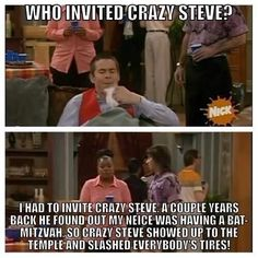 "He is always the life of the party. | Community Post: 13 Signs You Are Actually Crazy Steve From ""Drake And Josh"""