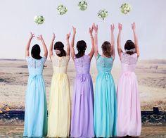 Gorgeous Lace Chiffon Dress