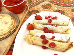 Get Hungarian Crepes: Palacsinta Recipe from Food Network