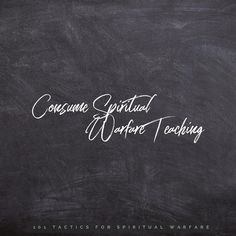 Spiritual Warfare Tactic 35 ••Consume Spiritual Warfare Teaching•• Studying what the Word of God has to say about warfare and gleaning from… Spiritual Warfare, Word Of God, Studying, Nerd, Spirituality, Bible, Teaching, Sayings, Instagram