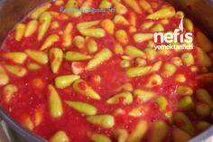 Preparation of pickled hot peppers with tomato sauce 3 – Nefis Yemek Tarifleri – Tatlılar – Pastalar – Izgara – Buğulama Pickled Hot Peppers, Cayenne Peppers, Homemade Beauty Products, Diet Menu, Stuffed Hot Peppers, Iftar, Tomato Sauce, Nutella, Pickles