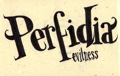 Learning Italian Language ~  Perfidia (evilness) IFHN