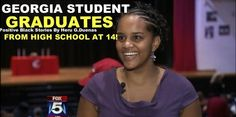 A Cherokee County student has finished high school at the age of 14! Melissa Robinson is making history as the youngest graduate at Cherokee County High.  Robinson is constantly in on the go. She began her high school coursework at the age of 10.  Daphe McQuarter, Robinson's mom, said that she took extra honors courses for three years