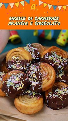Biscotti, Donuts, Arancini, Dessert Recipes, Desserts, Food Videos, Sweet Recipes, Buffet, Food And Drink