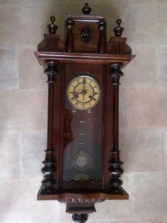 Renowacja mebli Kraków Clock, Antiques, Wall, Home Decor, Watch, Antiquities, Antique, Decoration Home, Room Decor