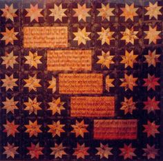 """""""Starblanket and Fires"""" The Starblanket is a source of healing and represents the teaching of how the Peace Drum came to the Anishinaabeg. Star Blanket, Quilts, Stars, Poster, Quilt Sets, Sterne, Log Cabin Quilts, Billboard, Quilt"""