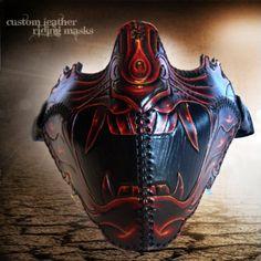 Badass Barren Culture Samurai Mask. Check it out at: http://barrenculture.com/product/SAMU.html
