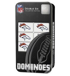 Denver Broncos Travel Dominoes Game