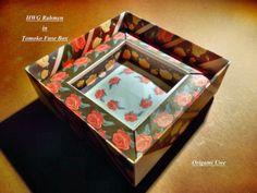 HWG Rahmen Design von Hans Werner Guth Box Design by Tomoko Fuse