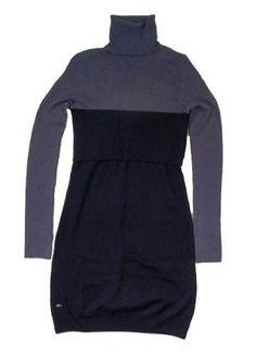 Lacoste Women's Long Sleeve Rib Turtleneck Dress with Contrast Jersey Bottom (Purple/Blueberry Blue) (10) Lacoste, http://www.amazon.com/gp/product/B009G3LDJY/ref=as_li_ss_tl?ie=UTF8=1789=390957=B009G3LDJY=as2=realloveclick-20