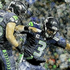 Seahawks ~ Russell Wilson finished regular season with franchise record numbers   329 Completions  483 Attempts  4,024 Passing yards (franchise record) 34 Touchdowns (franchise record) 8 Interceptions