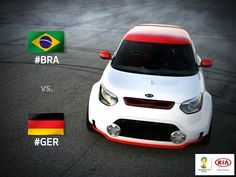 Tomorrow Brazil takes on Germany in only their second time facing each other in #WorldCup history. Which team do you think is going to take a spot in the finals? #BRAvsGER #KiaWorldCup #BecomeAFan