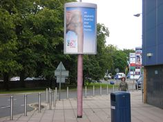 Via The UK, for the Chester Zoo. | The Coolest Street Pole Ads