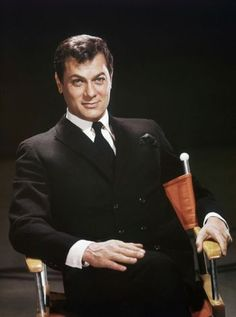Tony Curtis as Jack Harvey #theprincipleofchance Jack was popular with young actresses in the Golden Age