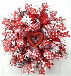 valentine wreaths | valentine wreath.... | Holiday