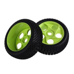 ==> [Free Shipping] Buy Best GeekFun 2Pcs RC 18 Buggy Wheel Rims Remote Car Tires Online with LOWEST Price   32606268866