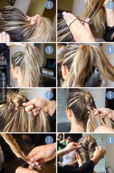 Eine großartige Frisur