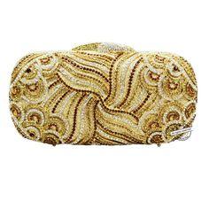 (61.20$)  Watch here  - Crystal Evening Bag Clutch Bags Clutches Lady Wedding Purse Rhinestones Wedding Handbags Gold/silver Evening Bag88275