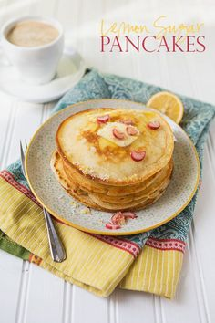 Lemon Sugar Pancakes