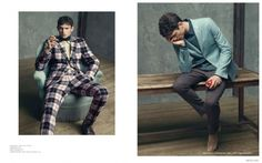 Arthur Gosse Models Fall Fashions Worthy of a Prince for Mens Uno Cover Story image Arthur Gosse Mens Uno 005 800x499