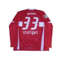 9af6127ef Photo2  VfB Stuttgart 2007-2008 Home L S Shirt  33 Gomez DfB