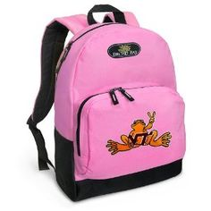 Virginia Tech Peace Frog Backpack Pink for Travel, Daypack CUTE School Bags Best Unique Cute Gifts for Girls, Students Ladies - (Apparel)  http://www.99homedecors.com/decors.php?p=B005GQWTN4  B005GQWTN4