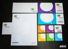 Nice Brand Elements for Alltrust Insurance by Nice Branding :: www.BrandNicely.com #brand #colorful