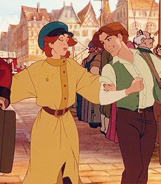 Anastasia and Demetri Princesa Anastasia, Disney Anastasia, Anastasia Movie, Anastasia Broadway, Anastasia Cartoon, Disney Pixar, Disney Memes, Disney Animation, Disney And Dreamworks