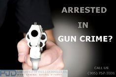 http://criminalattorneymiami.net/gun-crimes/ Arrested in #Gun #Crime in Miami? Have questions about your rights? Call us (305) 757-3331 for free consultation.